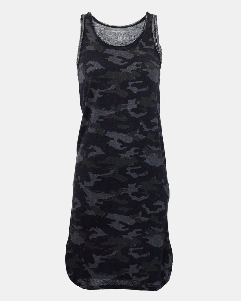 Camo Tank Dress-Majestic Filatures-Mercantile Portland