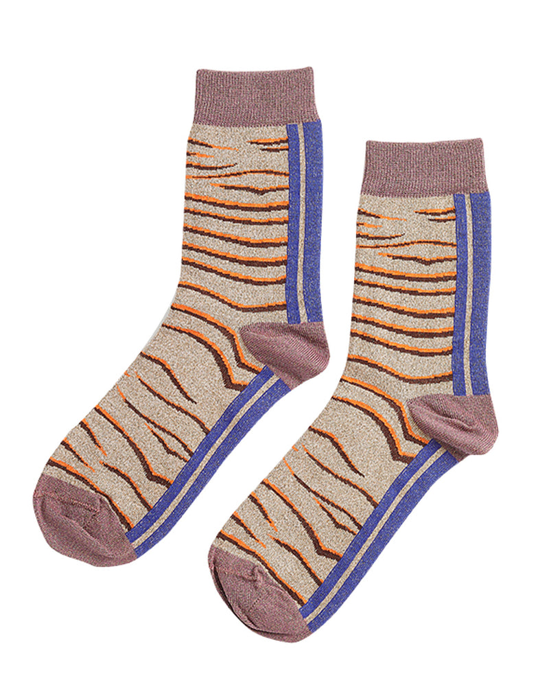 Rose Zebra Socks-Inouitoosh-Mercantile Portland
