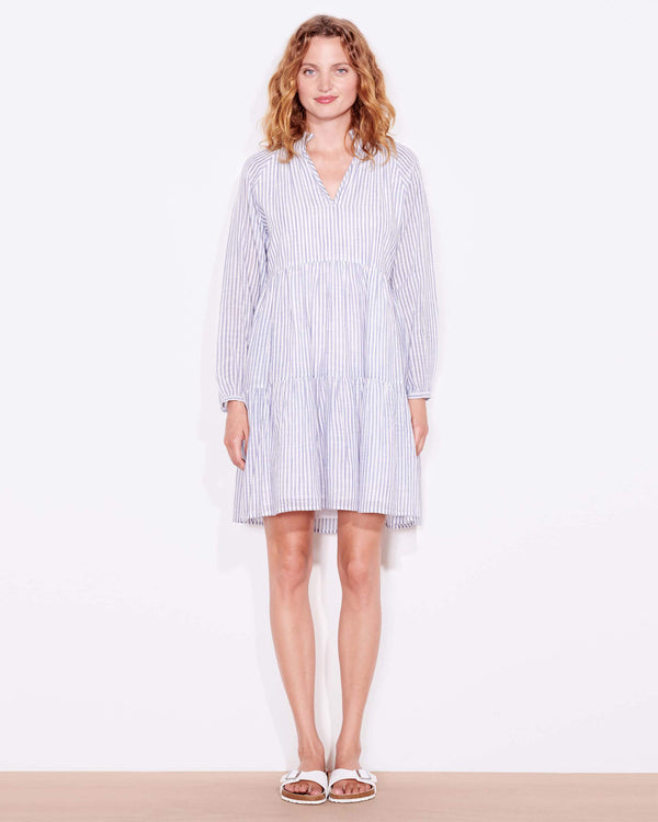 Striped Tiered Dress-Sundry-Mercantile Portland