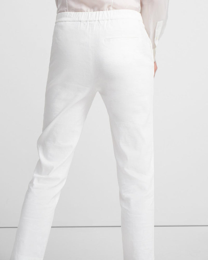 Treeca Pull-On Pant in Good Linen-Theory-Mercantile Portland