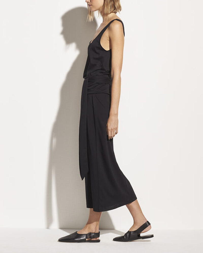 Sleeveless Wrap Dress-Vince-Mercantile Portland