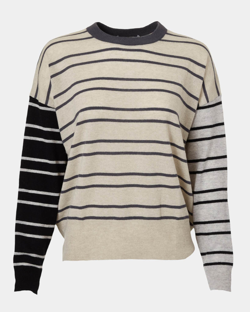 Boyfriend Striped Sweater