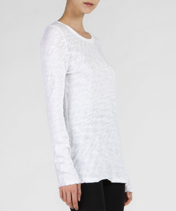Destroyed Wash Long Sleeve Tee-ATM-Mercantile Portland