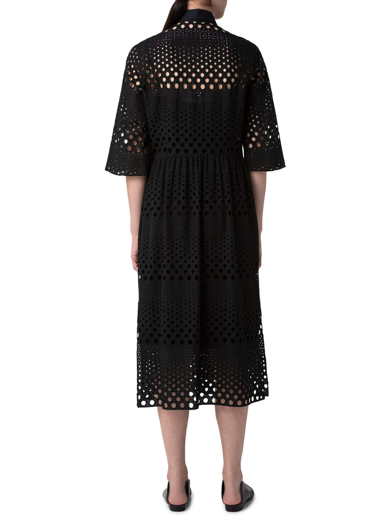 Eyelet Midi Dress-Akris Punto-Mercantile Portland
