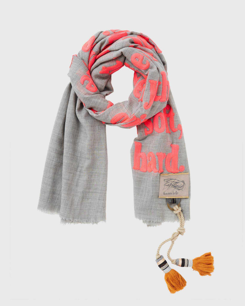 Poetry Scarf - Undeniably Themselves