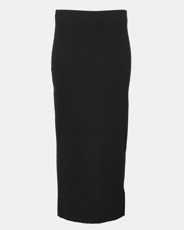 Ribbed Pencil Skirt-Vince-Mercantile Portland