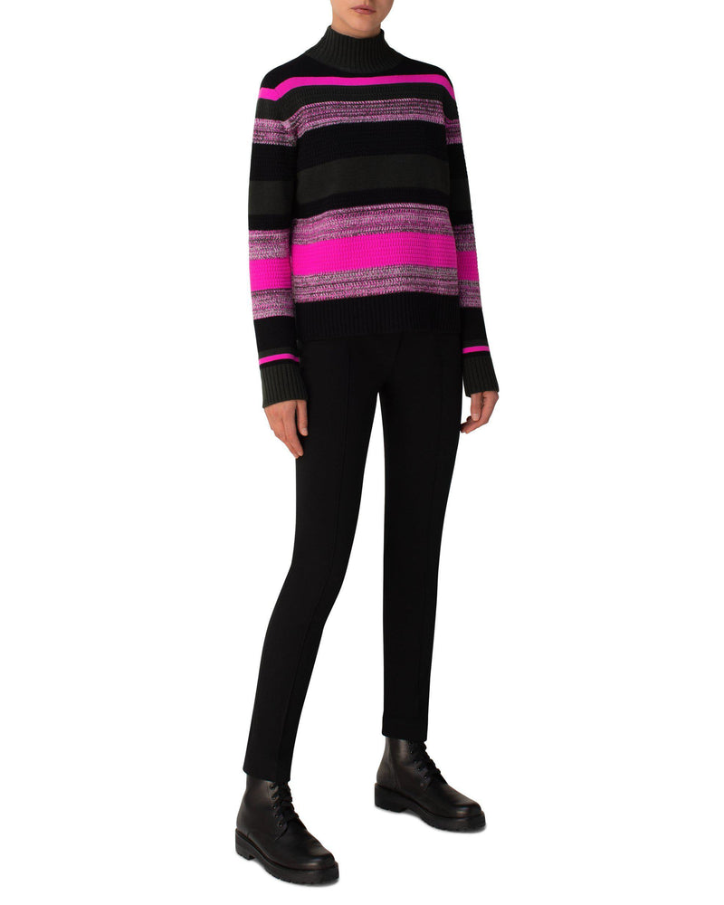 Striped Cashmere Sweater-Akris Punto-Merc Fashion