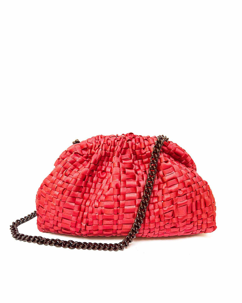 Woven Bag - Red