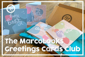 MarcoLooks Greetings Cards Club! Cards for Any and Many Occasion