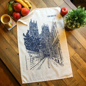 York Minster Tea Towel by MarcoLooks