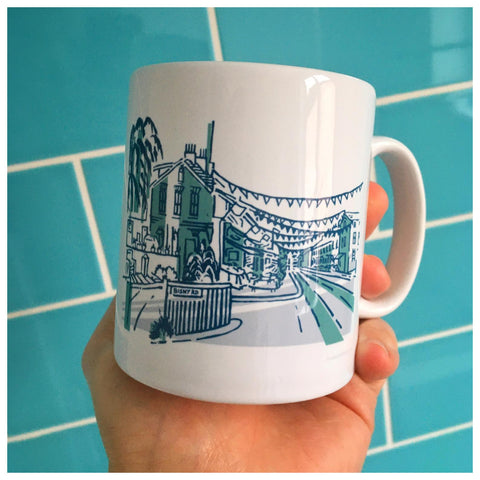 Bishy Road Ceramic Mug