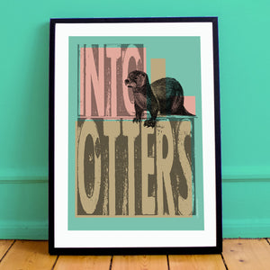 Into Otters Print