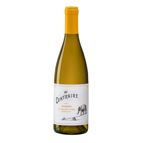 Home Wine Delivery Au Contraire Chard Russian River 750ML 2017