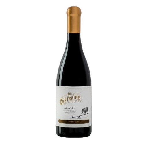 2014 Au Contraire Pinot Noir Dutton Ranch 750ML Best Wine Price