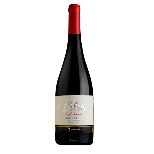 Best Wine Price 1865 Single Vyd Pinot Noir 750ML 2018