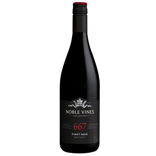 2017 Noble Vines 667 Pinot Noir New Lbl Monterey Wine Home Delivery
