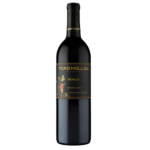 2016 Toad Hollow Merlot California Red Wine Home Delivery