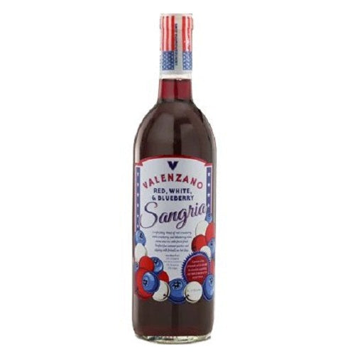 Valenzano Red, White, and Blueberry Sangria | Liquor Delivered Direct