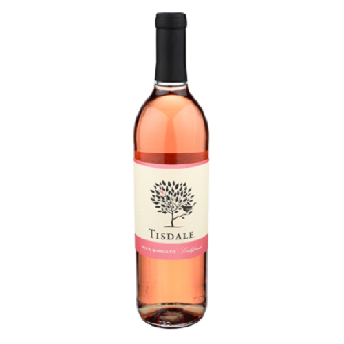 Tisdale Pink Moscato 750ML Alchohol Delivered To You