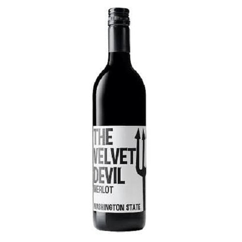 The Velvet Devil 2016 Merlot 750ML  Largest Online Wine Store