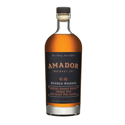Amador Whiskey Double Barrel Bourbon 750ML Home Delivered