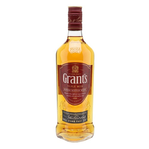 Grants Triple Wood Blended Scoth Whiskey Home Delivery Contactless