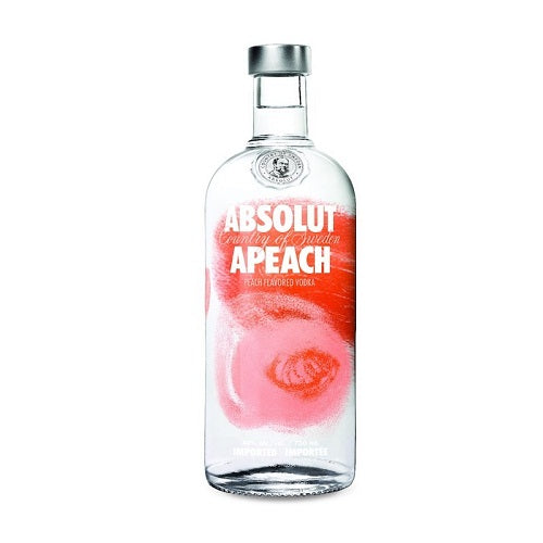 Absolut Apeach Vodka 750ml
