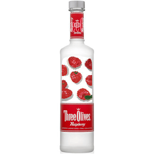 Three Olives Raspberry Vodka 750ml
