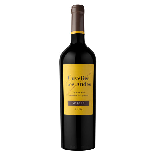 Argentina Malbec Wine by Cuvelier Los Andes 2015 750ml