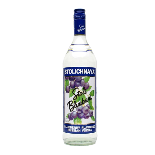 Stolichnaya Blueberi Vodka 750ml