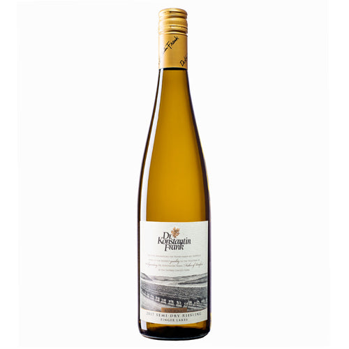 New York Riesling Dr. Frank Riesling Semi-Dry Wine 2017 750ml