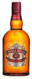 Chivas Regal 12 Years Old Blended Whiskey  Best Home Delivery Price