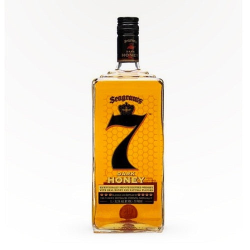 Seagram's 7 Crown Whiskey Dark Honey 750ML | Liquor Home Delivery