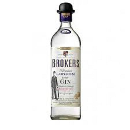 Broker's London Dry Gin 750ml
