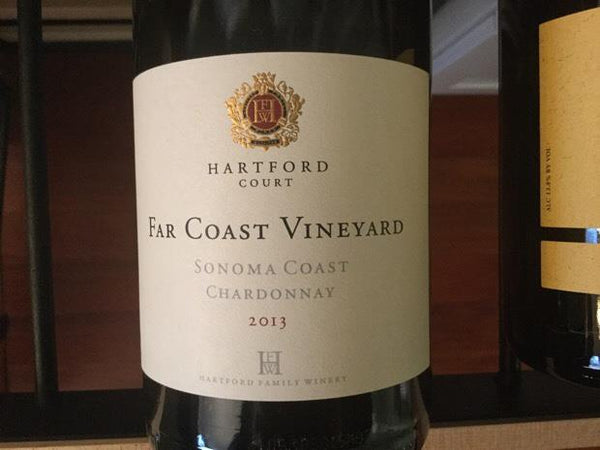 2013 Hartford Ct Chardonnay Far Coast Sonoma Coast  Best Online Wine