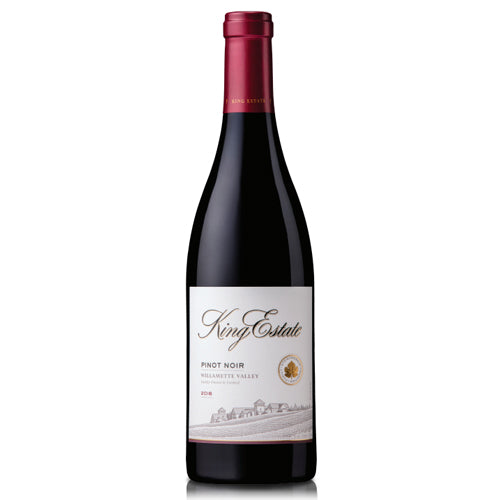 2016 Oregon Pinot Noir King Estate Willamette Shop Our Wine Library