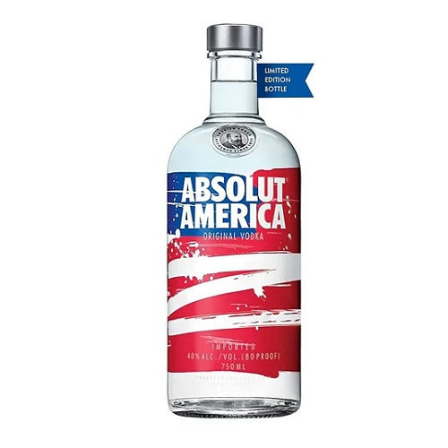 Absolut America 80 Proof 750ml