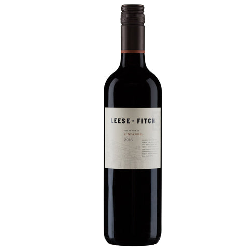 2016 California Zinfandel Wine By Leese-Fitch Best Find In Wine Library
