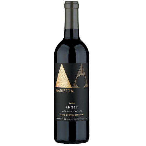 Marietta Angeli Zinfandel Sonoma County California Wine 2016 750ml