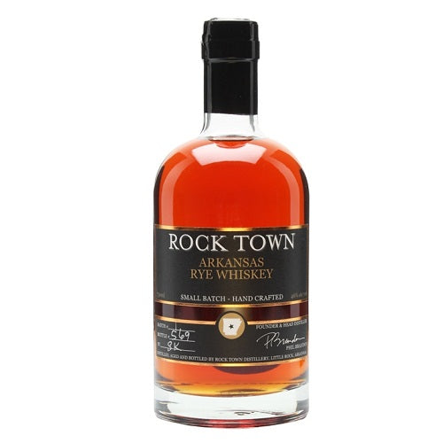 Rock Town Arkansas Small Batch Rye Whiskey 750ml