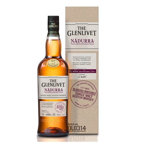 The Glenlivet Nadurra Oloroso Scotch Whisky 750ml