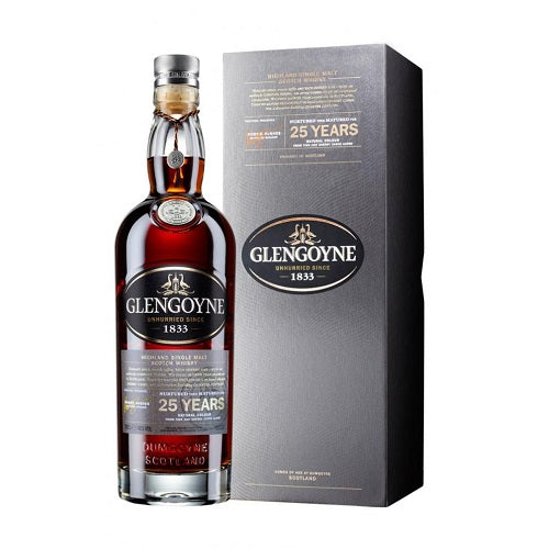 Glengoyne 25 Year Old Whisky 750ml