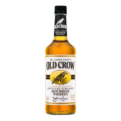 Old Crow 80 Proof Bourbon Whiskey 750ml