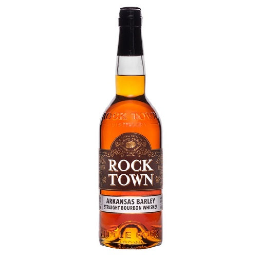 Rock Town Straight Bourbon Barley Whiskey 750ml