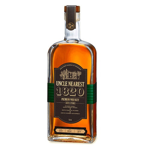 Uncle Nearest 1820 Single Barrel Whiskey 750ml