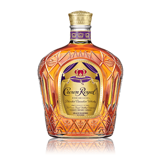 Crown Royal Fine Deluxe Blended Canadian Whisky 750ml
