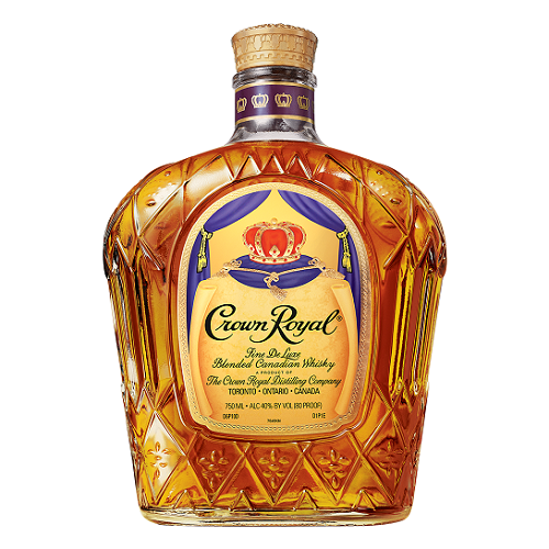 Crown Royal Canadian Whiskey Philadelphia Flyers Bag 750ml