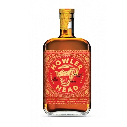 Howler Head Banana Infused Bourbon Whiskey | Liquor Delivered Direct
