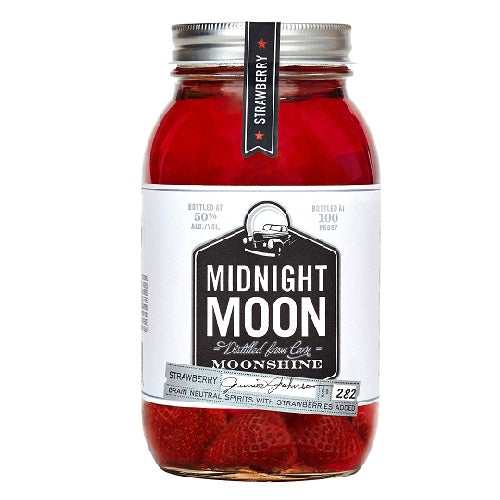 Midnight Moon Strawberry Moonshine 750ml