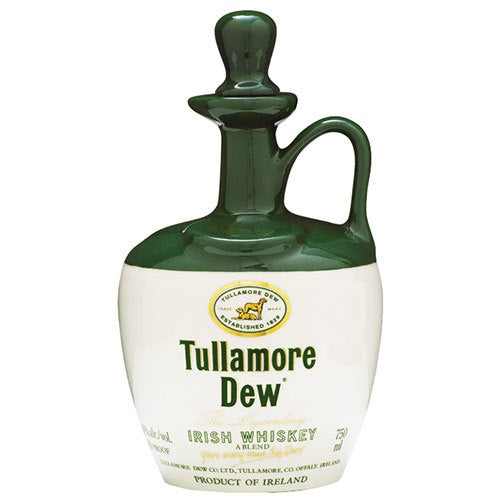 Tullamore Dew Irish Whiskey Crock 750ml